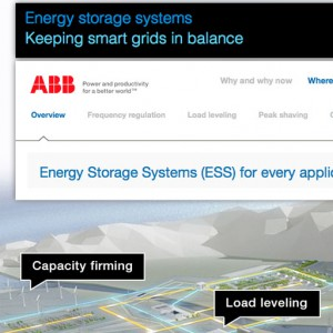 ABB Energy Storage Solutions - Website